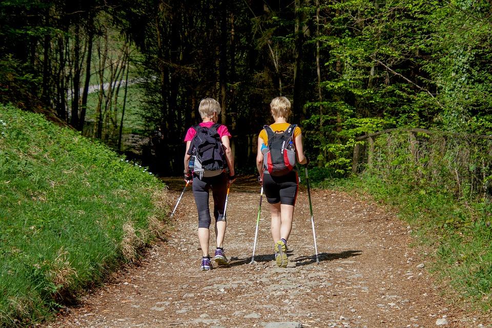 nordic walking - chodzenie